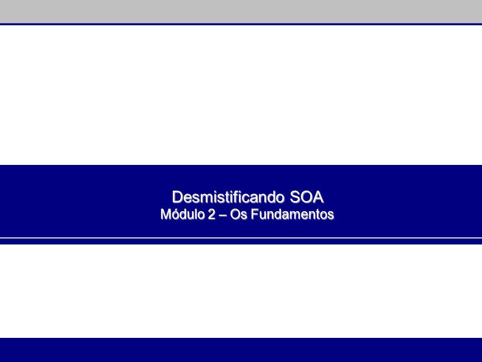 Desmistificando SOA Módulo 2 – Os Fundamentos