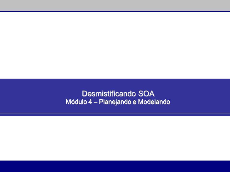Desmistificando SOA Módulo 4 – Planejando e Modelando