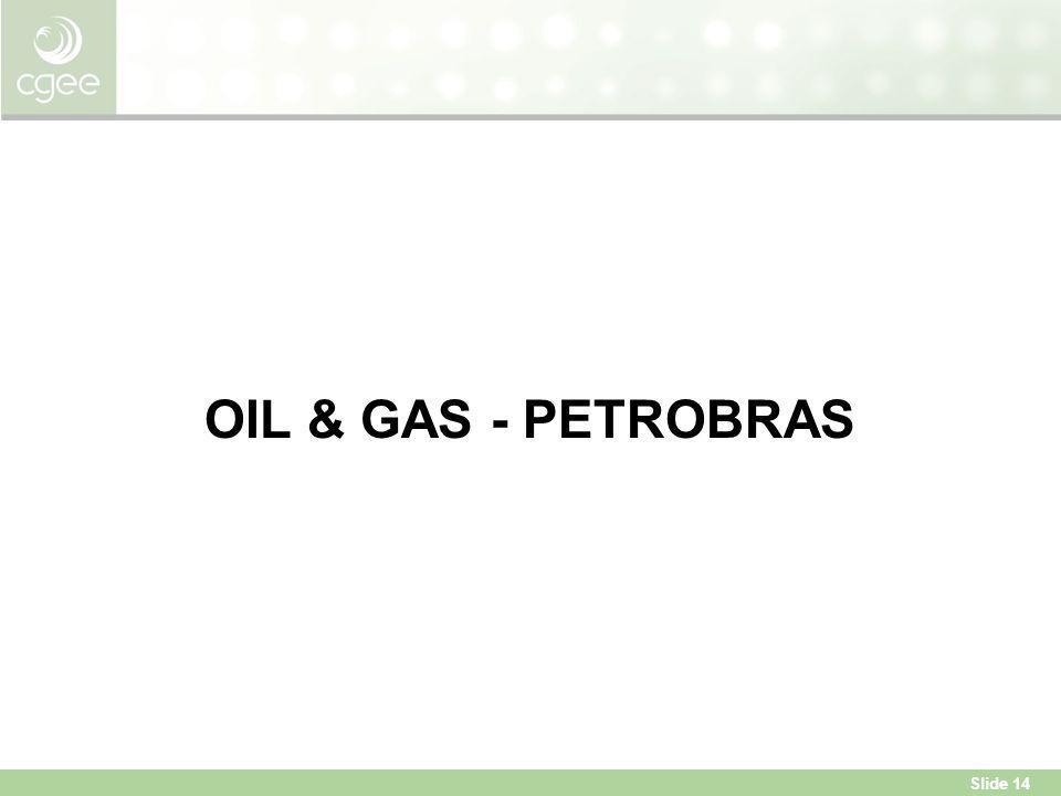 Slide 14 OIL & GAS - PETROBRAS