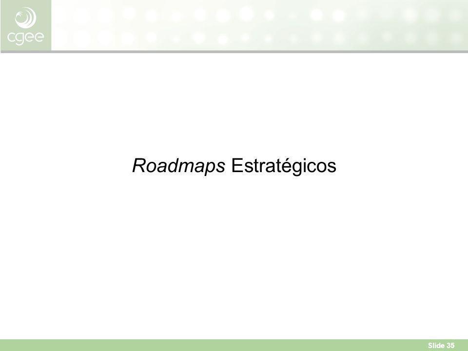 Slide 35 Roadmaps Estratégicos