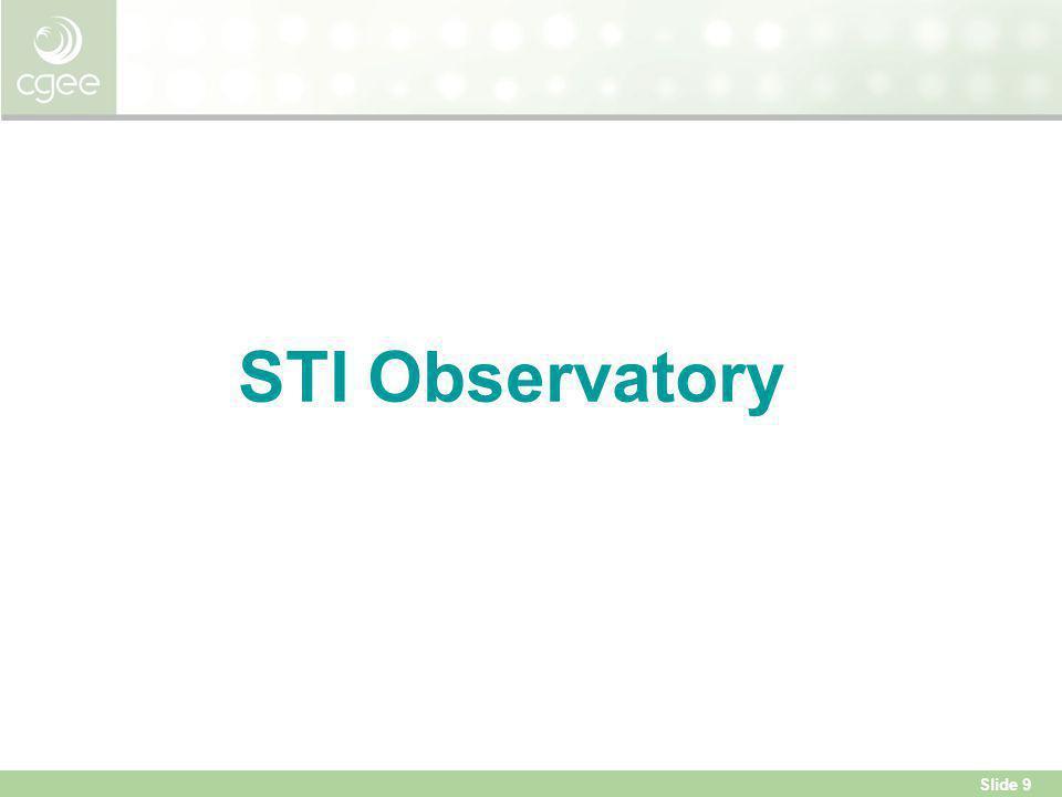 Slide 9 STI Observatory