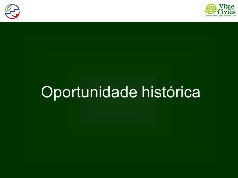 Oportunidade histórica