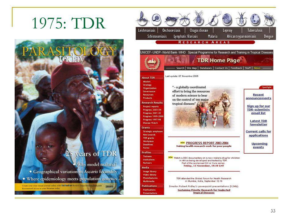 33 1975: TDR