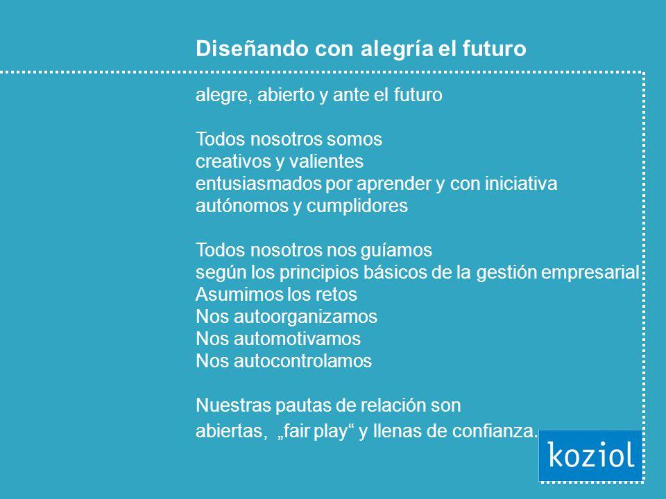 © Prof. Dr. Ing. Klaus North 8 Diseñando con alegría el futuro alegre, abierto y ante el futuro Todos nosotros somos creativos y valientes entusiasmad