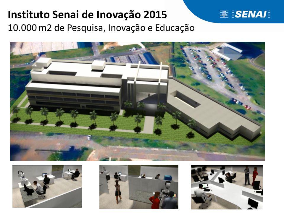 Instituto Senai de Inovação 2015 10.000 m2 de Pesquisa, Inovação e Educação