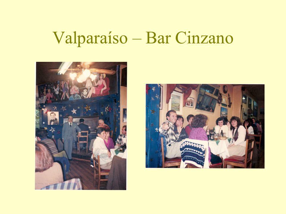 Valparaíso – Bar Cinzano