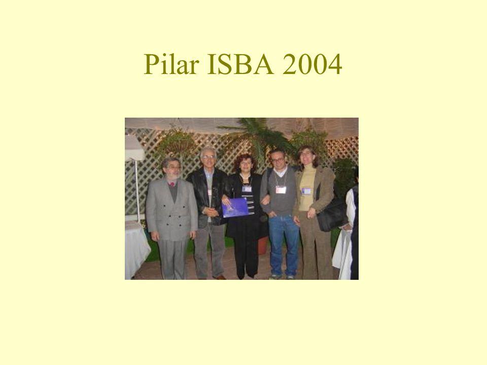 Pilar Iglesias últimos anos Teatro e estatística – projeto realizado com grupo de teatro para alunos de ensino médio.