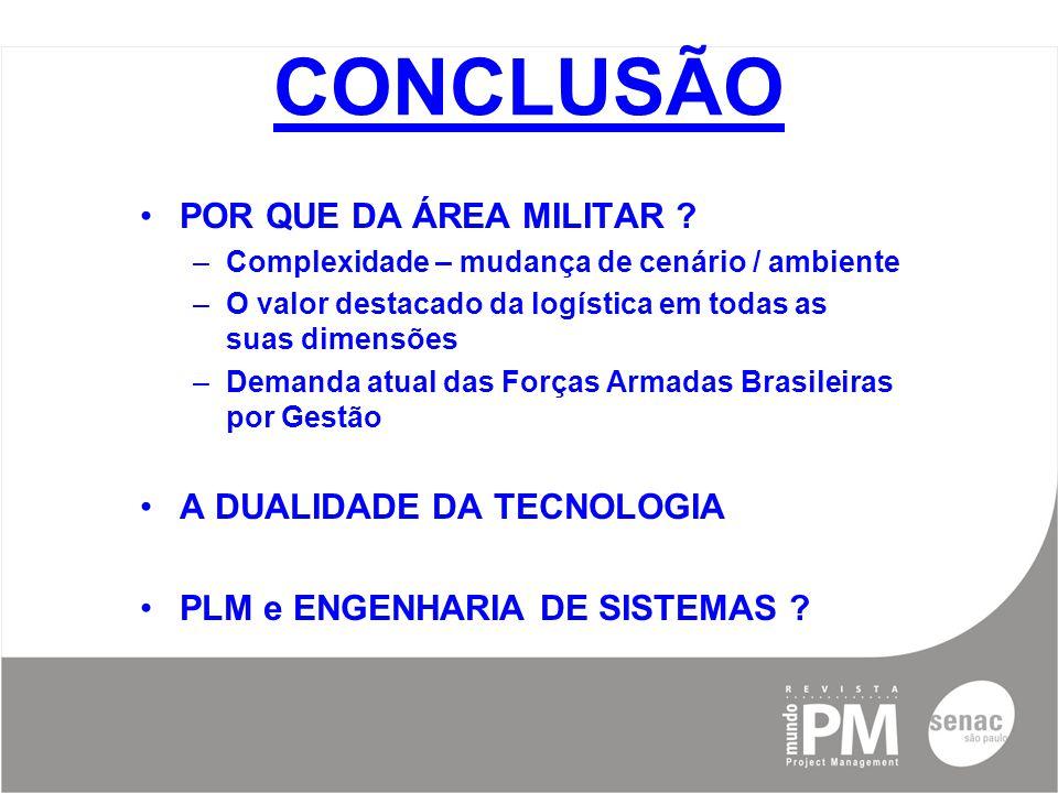 CONCLUSÃO POR QUE DA ÁREA MILITAR .