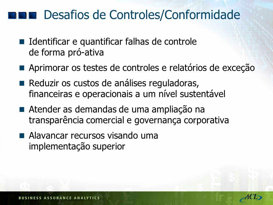 Controles Internos: O que está em risco.