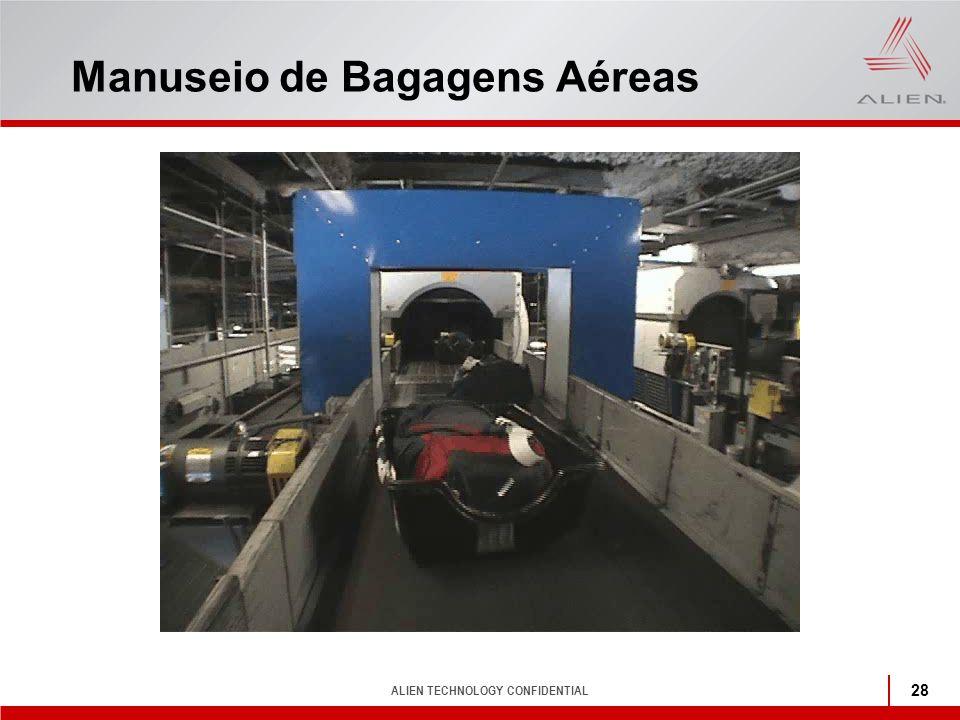 ALIEN TECHNOLOGY CONFIDENTIAL 28 Manuseio de Bagagens Aéreas