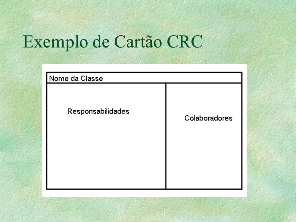 Exemplo de Cartão CRC