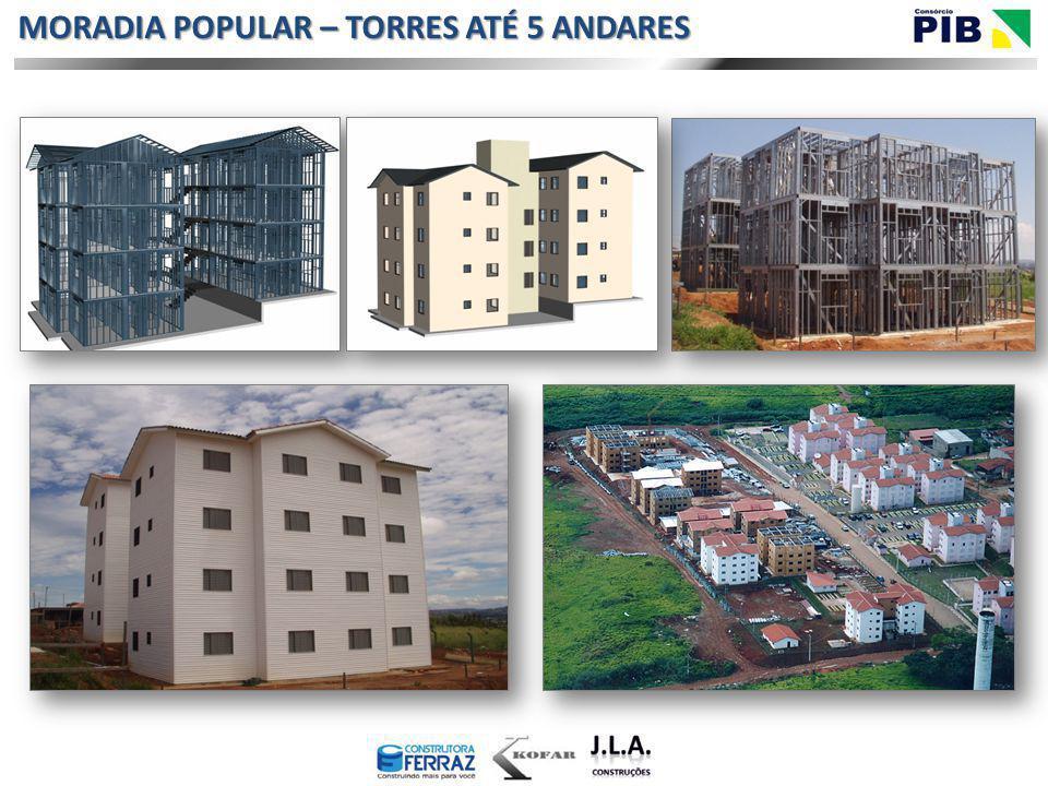 MORADIA POPULAR – TORRES ATÉ 5 ANDARES
