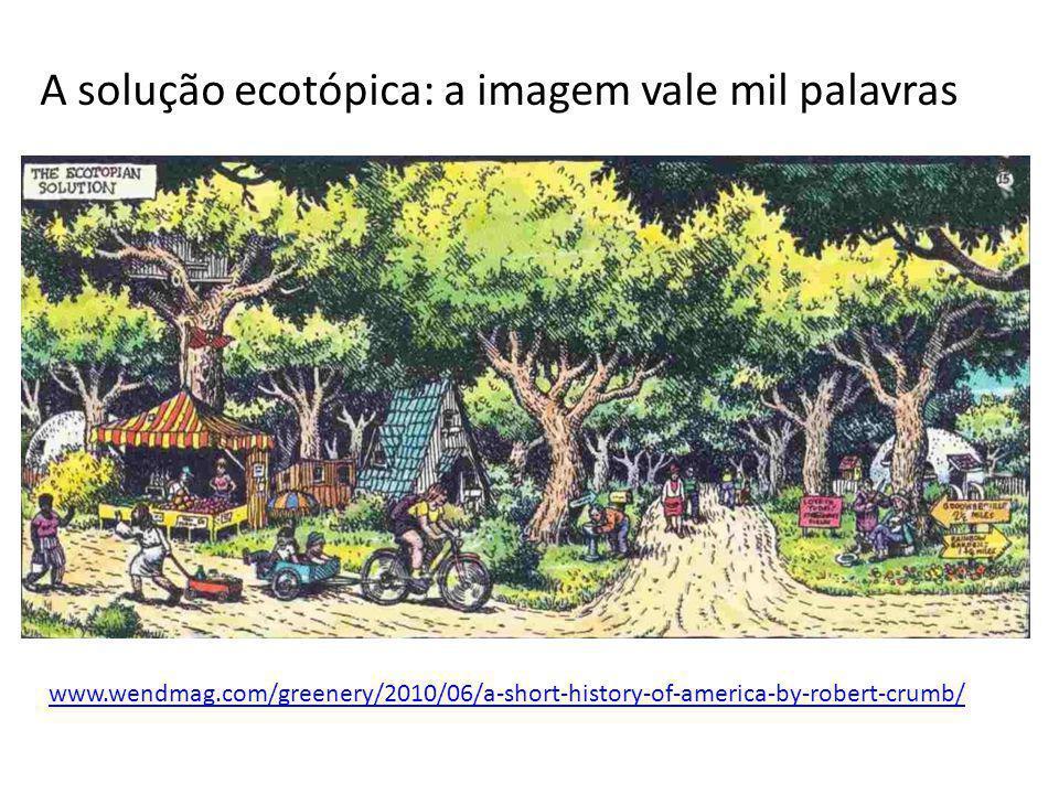 A solução ecotópica: a imagem vale mil palavras www.wendmag.com/greenery/2010/06/a-short-history-of-america-by-robert-crumb/