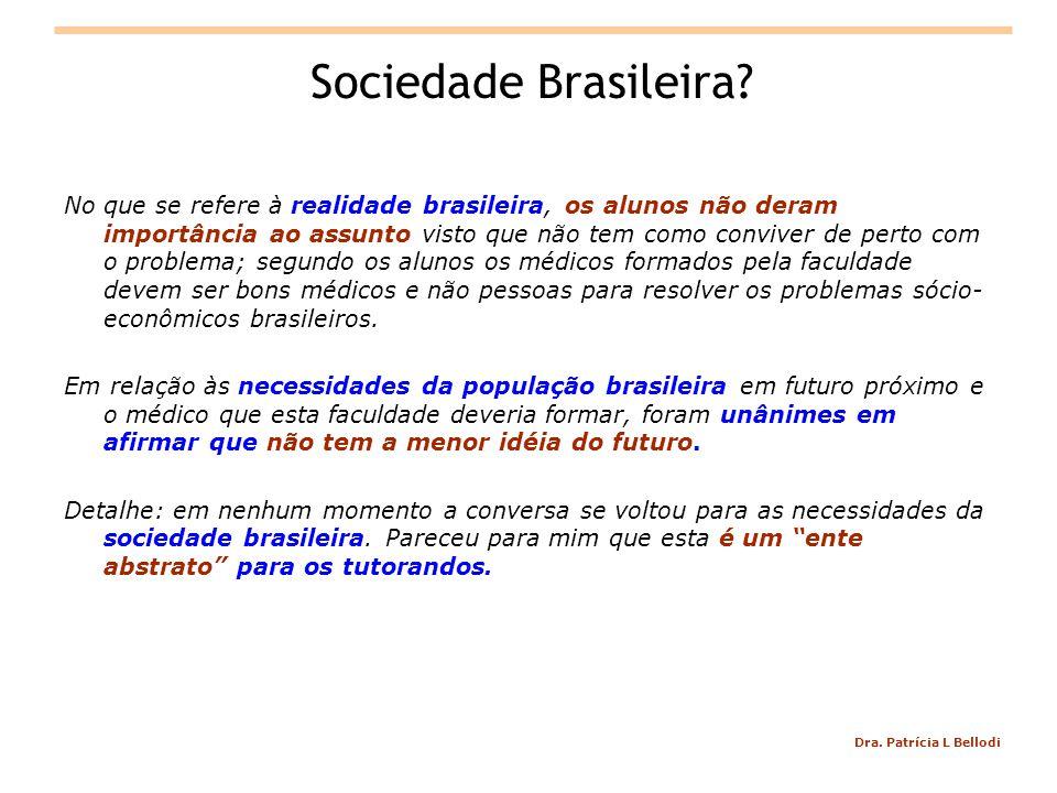 Dra.Patrícia L Bellodi Sociedade Brasileira.