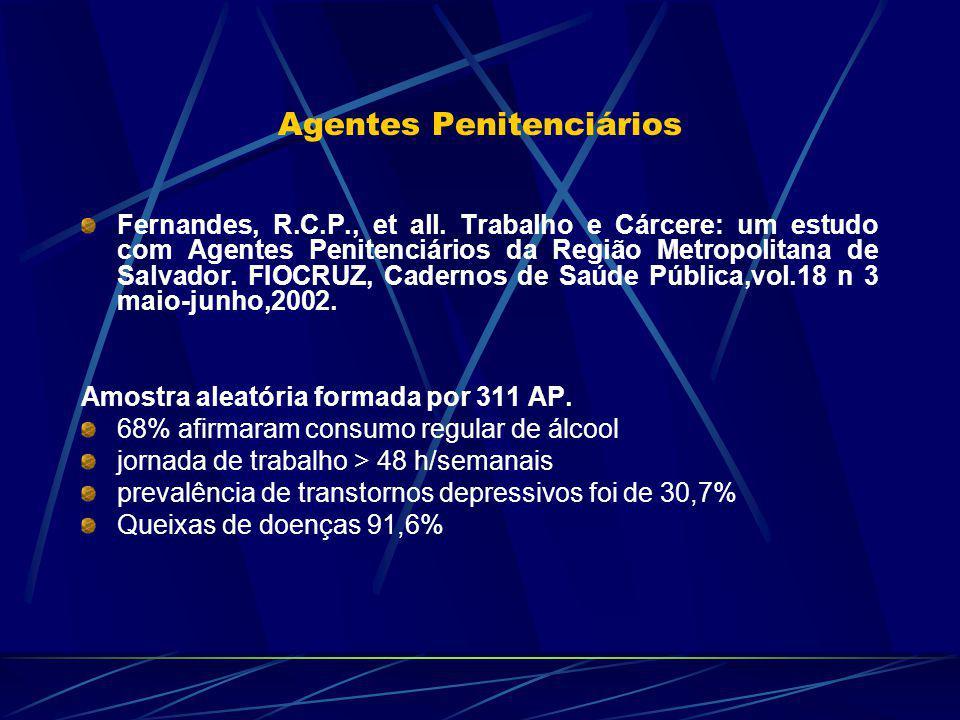 Agentes Penitenciários Fernandes, R.C.P., et all.