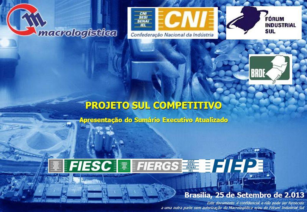 41 Novo Eixo de Integração da Ferro- via do Frango até Itajaí 44 Principais Projetos Modal do Projeto HidroRodo Porto Ferro Ferrovia Hidrovia Rodovia Porto L.Curso Terminal Hidroviário L.Curso Eclusa 84.