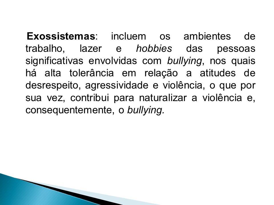 (...) Vizinhança e comunidade pouco participativa ou ativa na vida/comportamento das crianças e adolescentes, com alta tolerância para com o desrespei