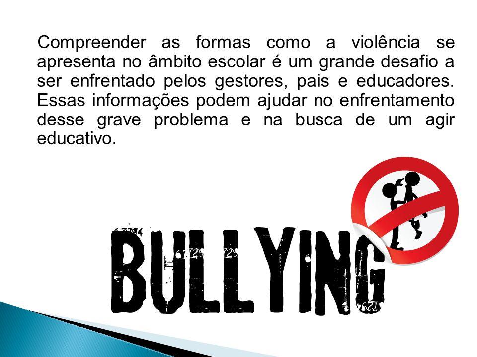 - As consequências da prática do bullying afetam todos os protagonistas do fenômeno.