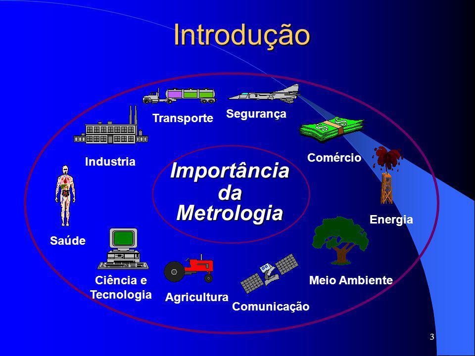 4 O conceito de Metrologia Segundo o Vocabulário Internacional de Metrologia - VIM: Metrologia é a Ciência da Medição  Problema Central:  Qualidade,  Credibilidade,  universalidade dos resultados.