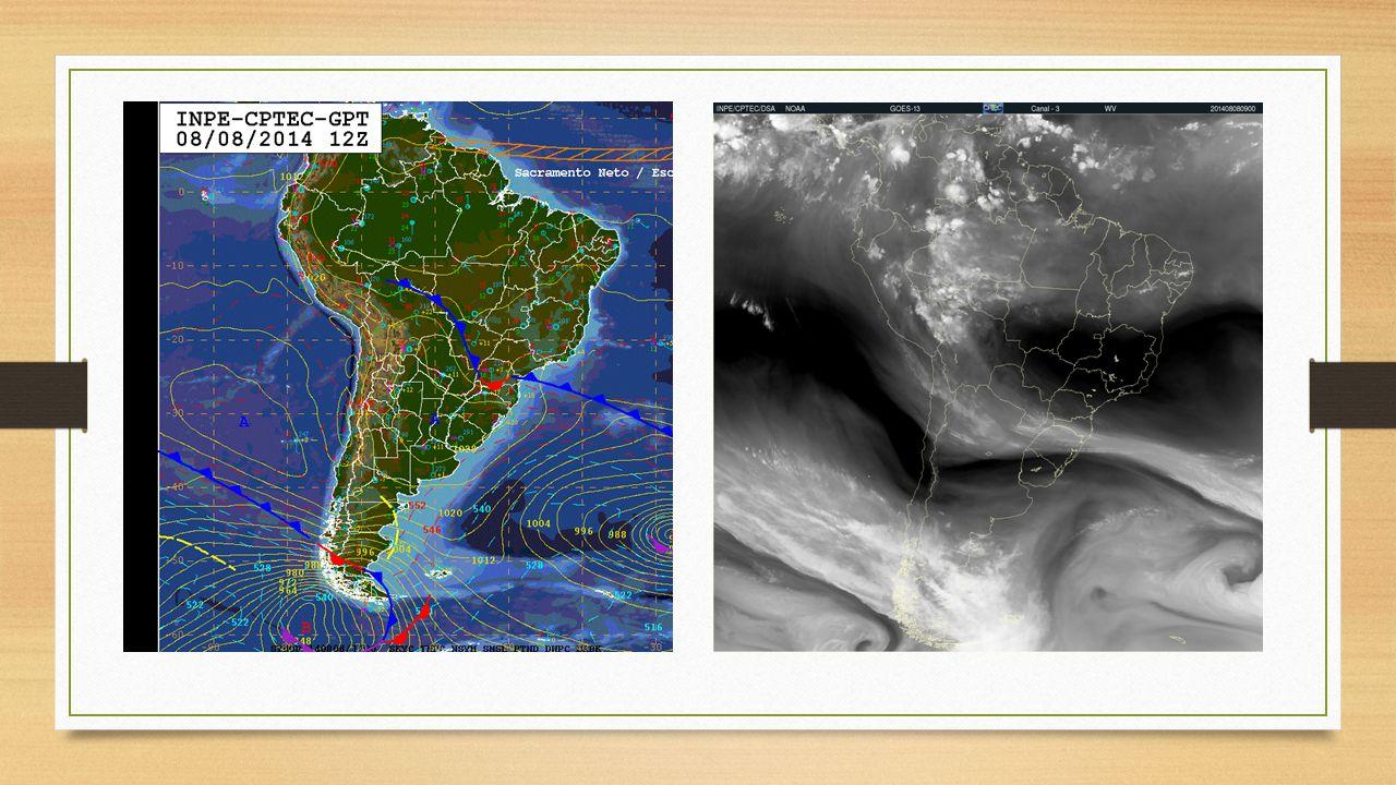 Núcleos de instabilidades se formaram no Vale do Itajaí na tarde desta terça-feira(12), algumas localidades registraram chuva de granizo.