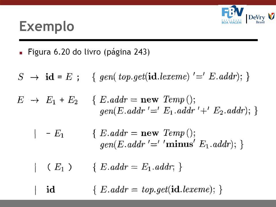 28 Exemplo n Figura 6.20 do livro (página 243)