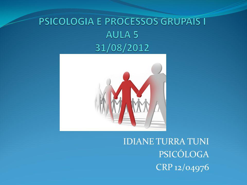 IDIANE TURRA TUNI PSICÓLOGA CRP 12/04976