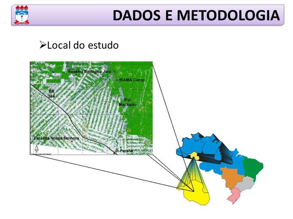 Local do estudo DADOS E METODOLOGIA