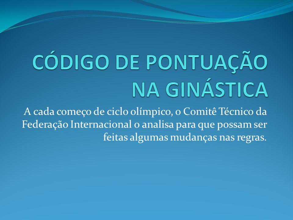A cada começo de ciclo olímpico, o Comitê Técnico da Federação Internacional o analisa para que possam ser feitas algumas mudanças nas regras.