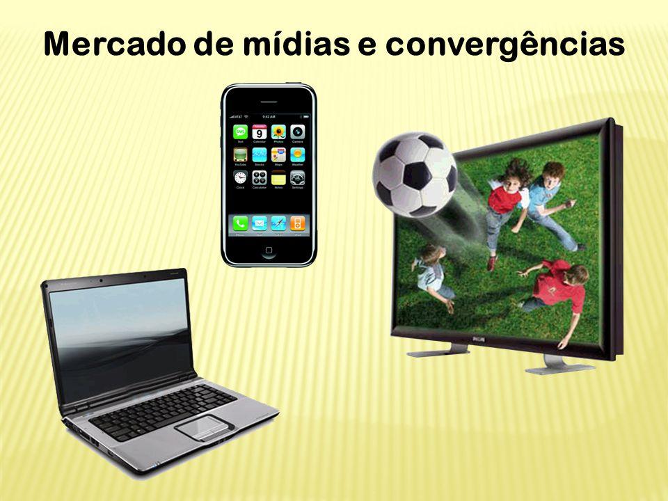 Mercado de mídias e convergências