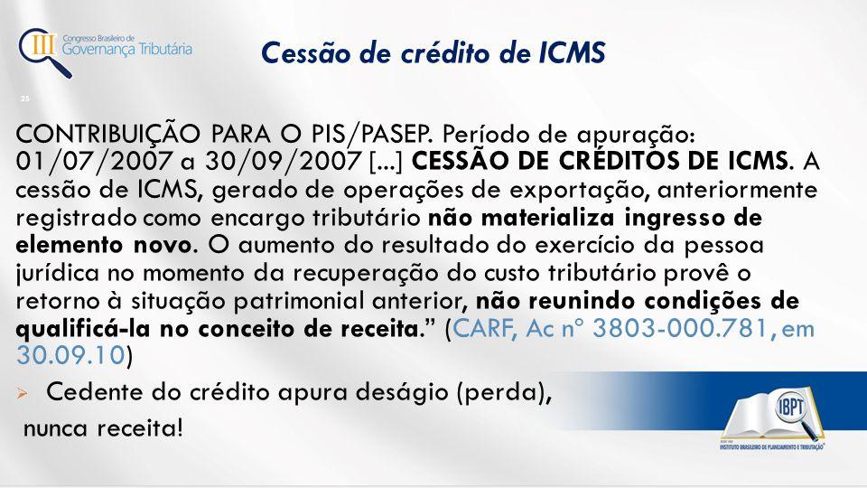 CONTRIBUIÇÃO PARA O PIS/PASEP.