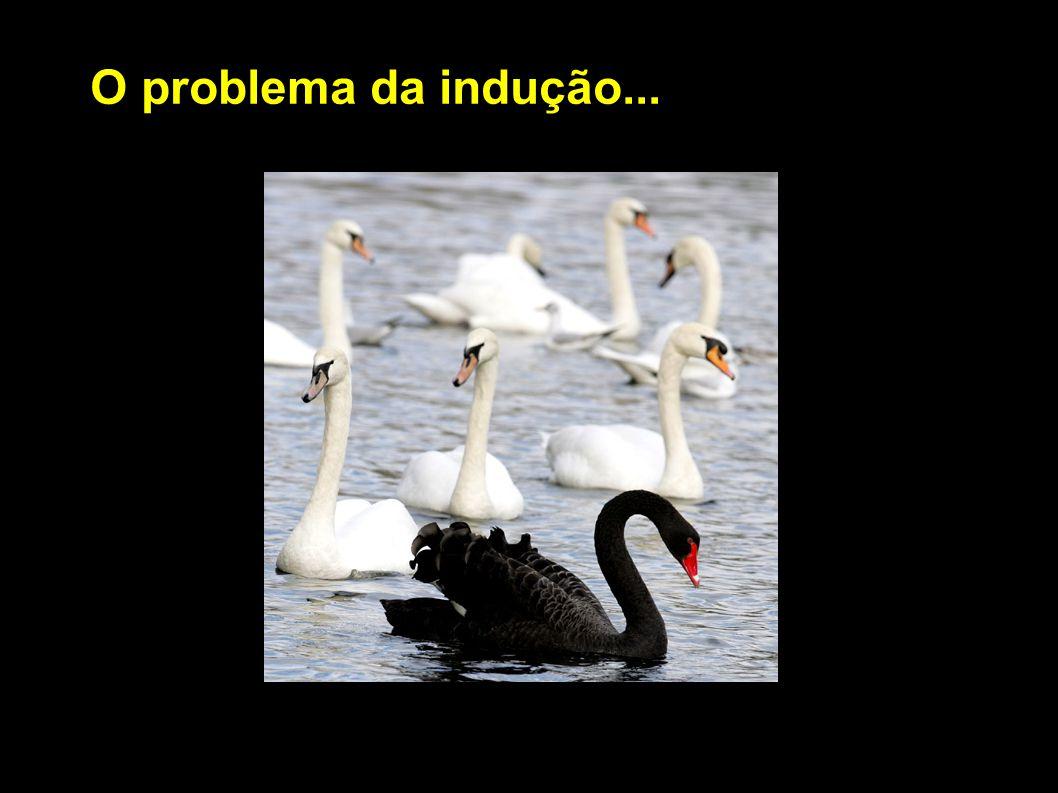 O problema da indução...