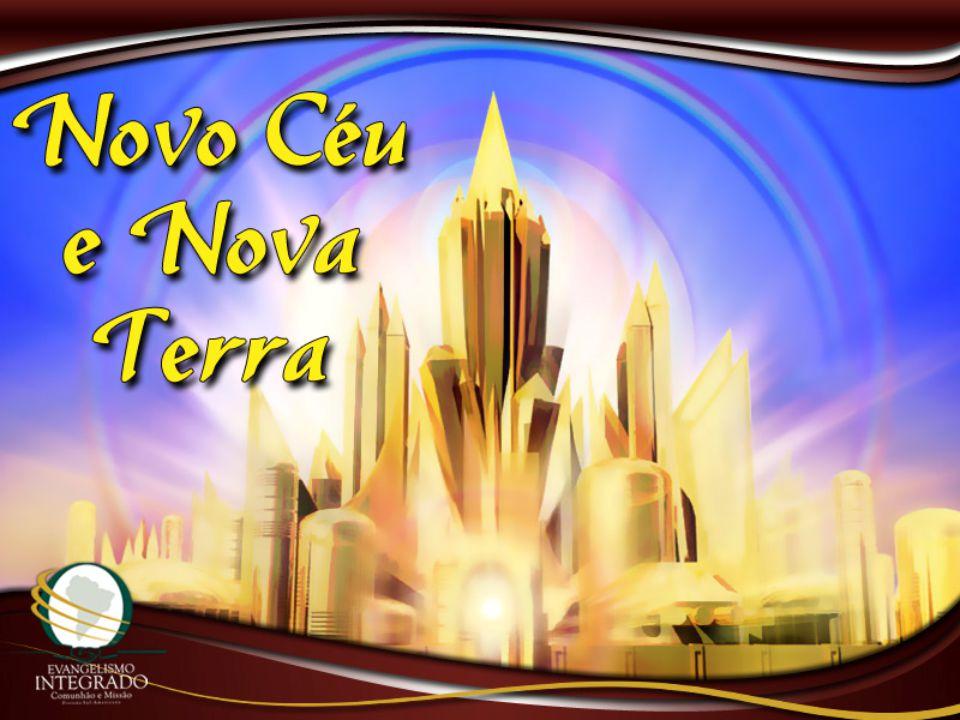 Vi também a cidade santa, a nova Jerusálem, que descia do céu, da parte de Deus, ataviada como noiva adornada para o seu esposo.