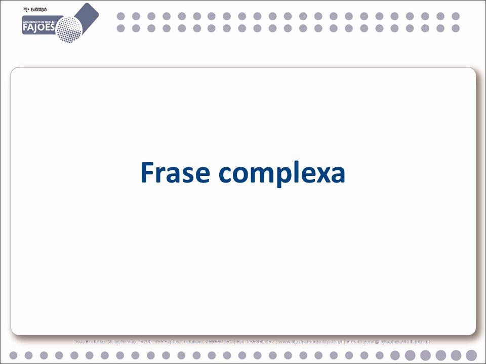Orações coordenadas Várias orações da mesma natureza podem ser coordenadas umas às outras através de conjunções ou locuções coordenativas.