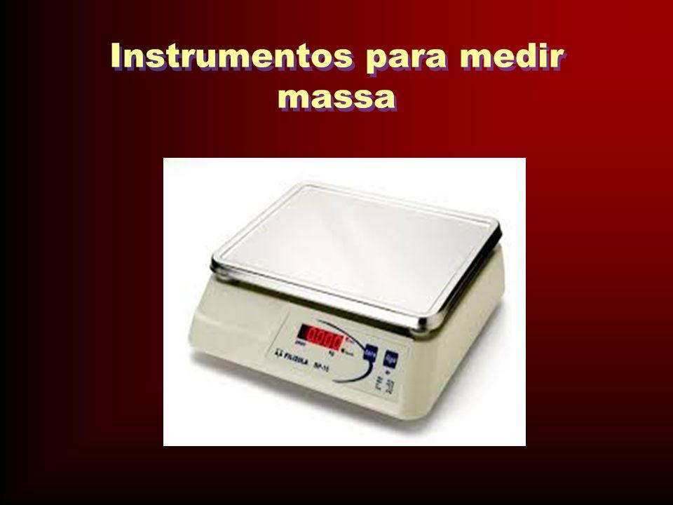 Instrumentos para medir massa