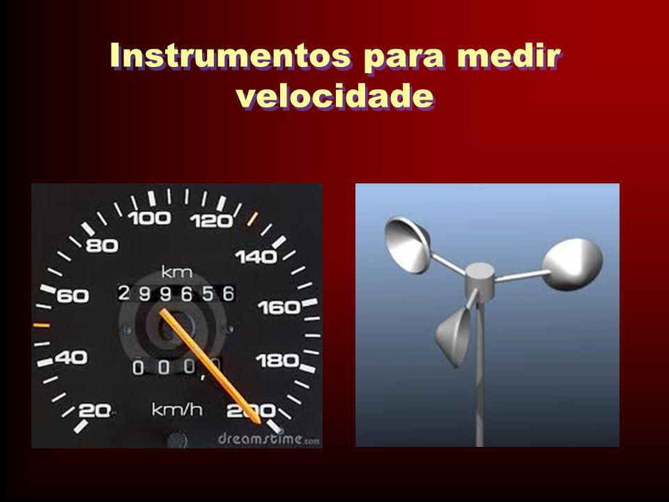 Instrumentos para medir velocidade