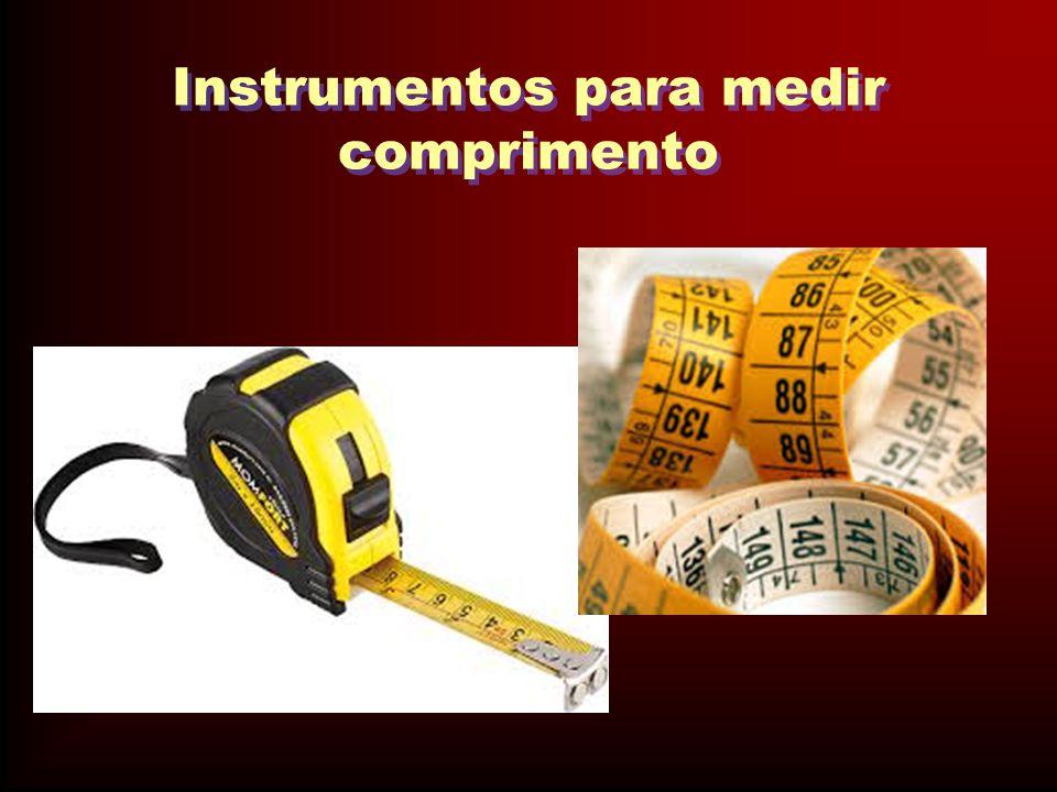 Instrumentos para medir comprimento