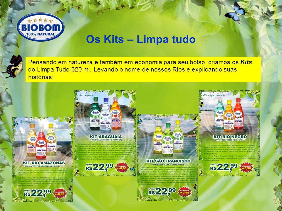 Os Kits – Limpa tudo Pensando em natureza e também em economia para seu bolso, criamos os Kits do Limpa Tudo 620 ml.