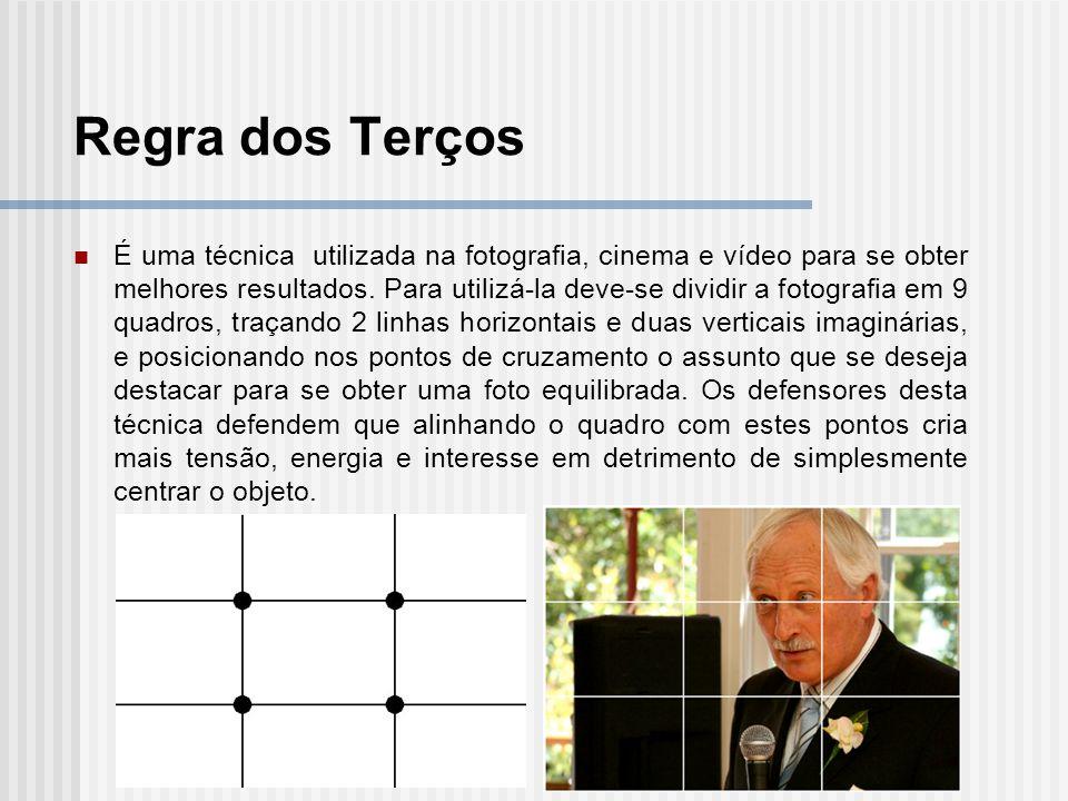 É uma técnica utilizada na fotografia, cinema e vídeo para se obter melhores resultados.