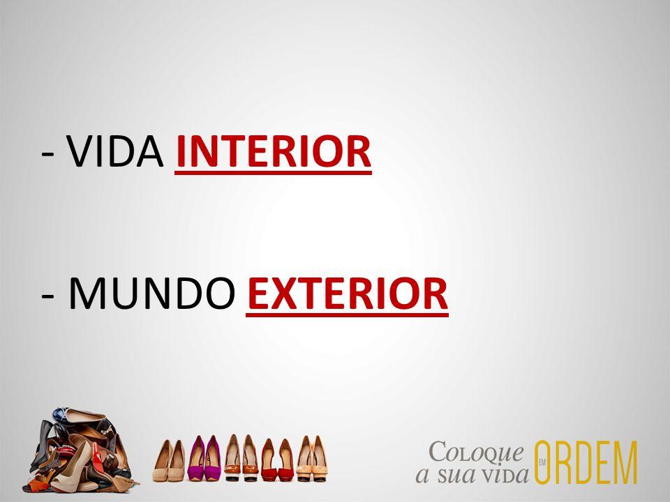 -VIDA INTERIOR - MUNDO EXTERIOR