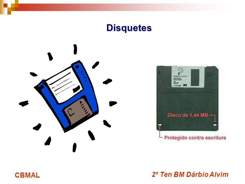 2º Ten BM Dárbio Alvim CBMAL Disquetes