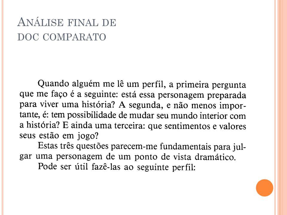 A NÁLISE FINAL DE DOC COMPARATO