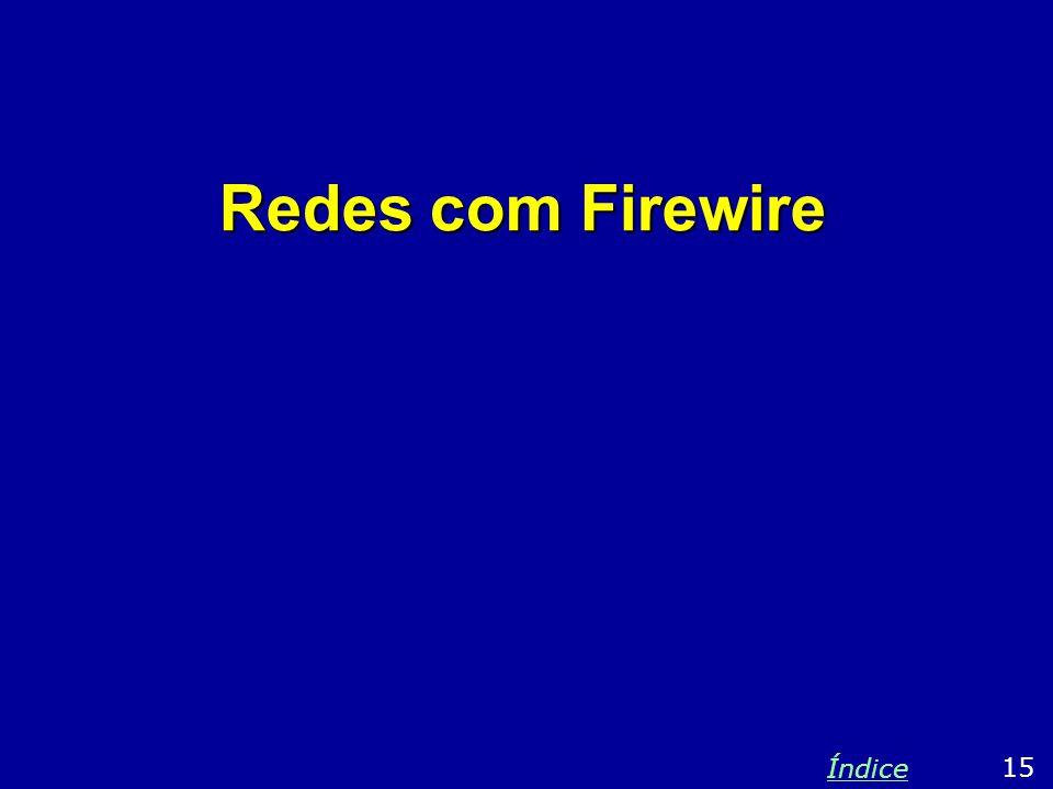Redes com Firewire 15 Índice