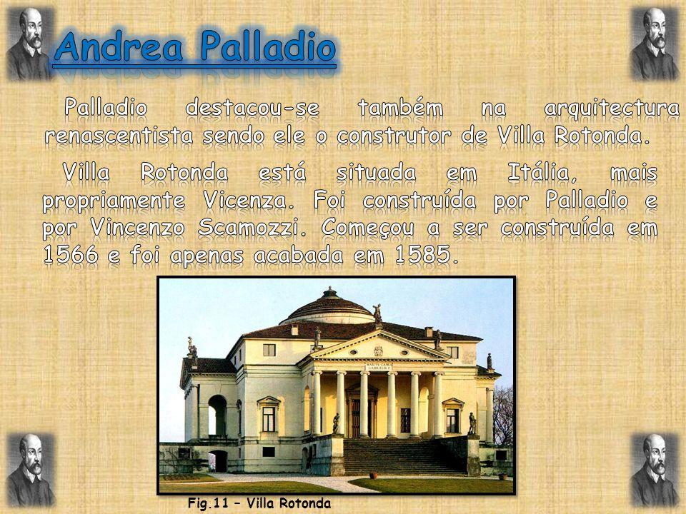 Fig.11 – Villa Rotonda