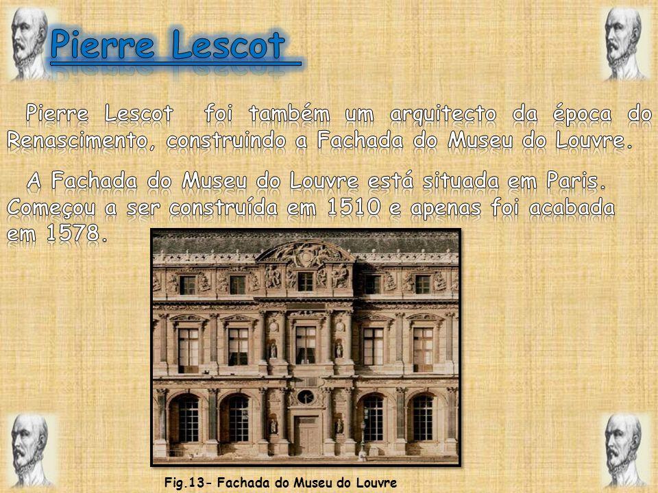 Fig.13- Fachada do Museu do Louvre