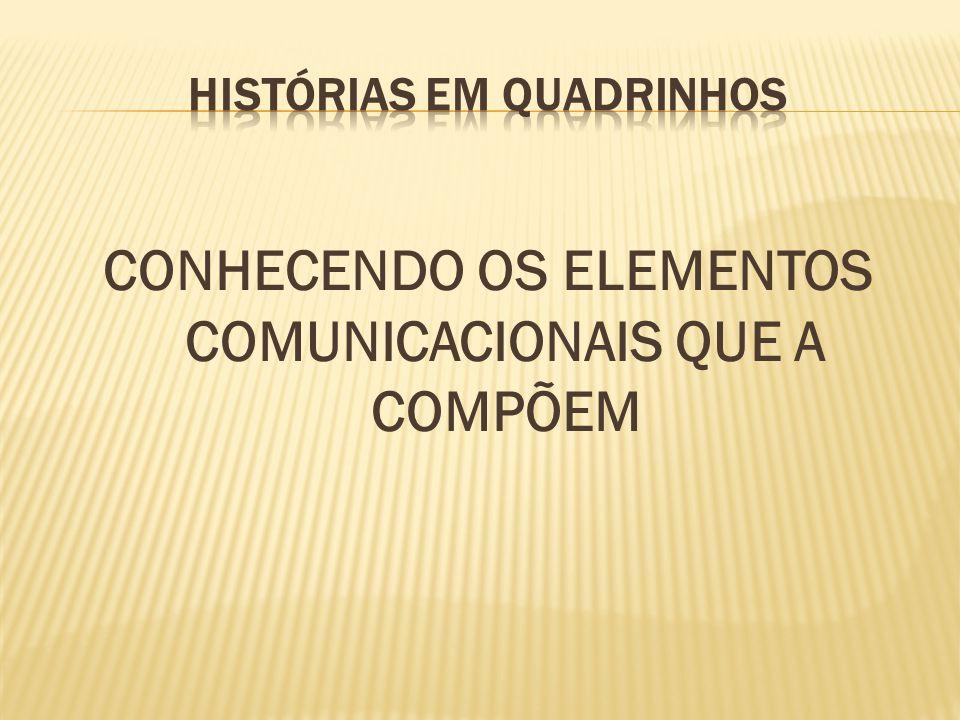 CONHECENDO OS ELEMENTOS COMUNICACIONAIS QUE A COMPÕEM