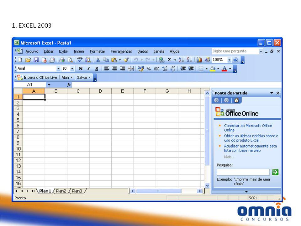 Introdução Programa editor de planilhas (tabelas de cálculos).