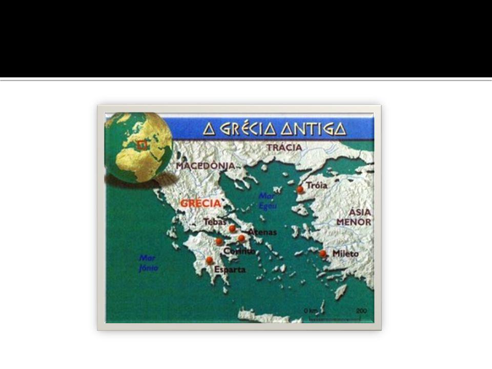  A civilização cretense desenvolveu-se entre 2000 e 1400 a.C.