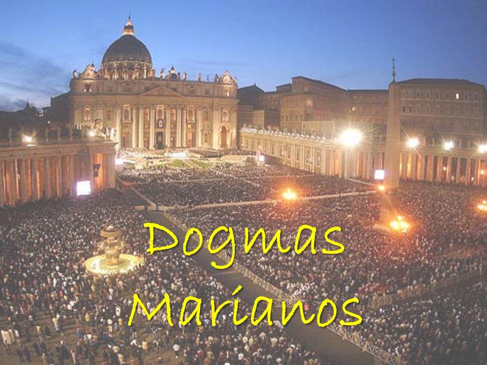 Quantos são os dogmas Marianos? Maternidade Virgindade Imaculada Assunção