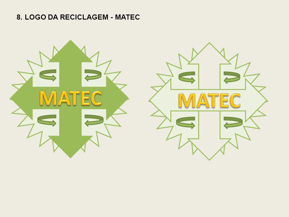 8. LOGO DA RECICLAGEM - MATEC