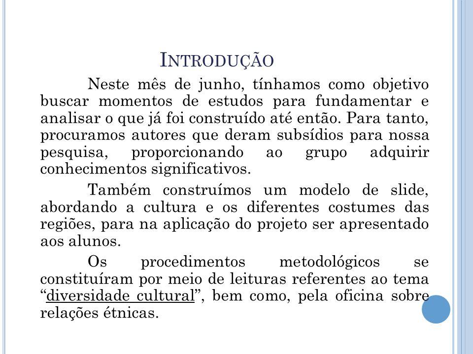 R EFERÊNCIAS MOREIRA, Antonio Flavio Barbosa e CANDAU, Vera Maria.